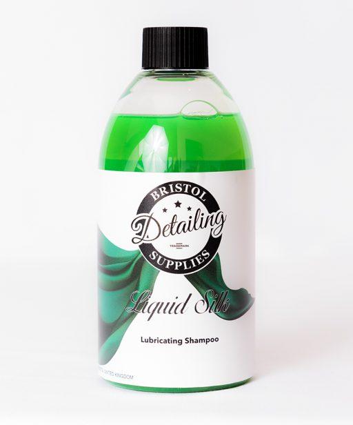liquid-silk-lubricating-shampoo-Bristol-Detailing-Supplies