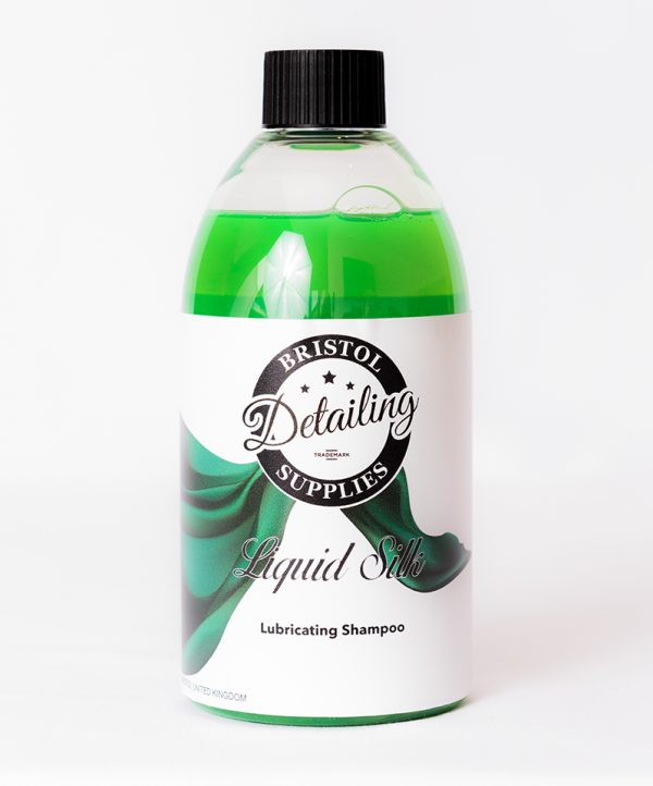 liquid-silk-lubricating-shampoo-Bristol-Detailing-Supplies